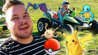 CATCHING POKEMON IN REAL LIFE!