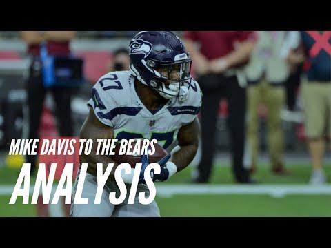 Mike Davis to the Chicago Bears: Analysis + Breakdown!
