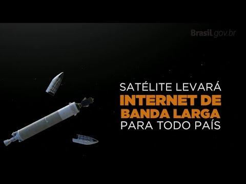 Satélite levará internet a todo o país