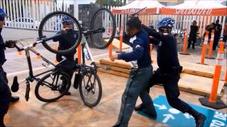 preview picture of video 'CICLOPOLICIAS CURSO BASICO MAYO 2013 BIKE POLICE TRANING. AGUASCALIENTES.'