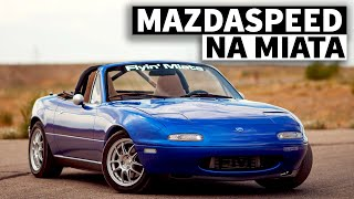 The Mazdaspeed Miata That Never was: Flyin' Miata's First Gen Turbo Kit