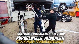BMW Schwingungsdämpfer ersetzen | Replace vibration damper|