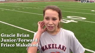 Fast Forward & Rewind: Frisco Wakeland Soccer Star Gracie Brian