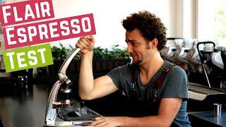 Flair Espresso Maker - Manueller Espresso mit Workout | Test