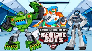 Трансформеры Наперегонки с бедой Transformers Rescue Bots покупаем нового Бота спасателя Квикшедоу