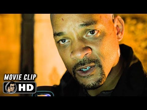 GEMINI MAN Clip - Catacomb Clash (2019) Will Smith