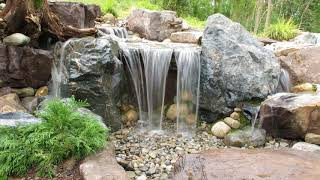 Build A Simple Backyard Waterfall