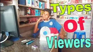 Types of Youtube videos Viewers | Ganesh GD |
