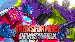 Transformers: Devastation All Cutscenes (Game Movie) HD