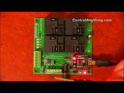 4 Channel USB Relay Controller ProXR Lite High Power Hardware Overview