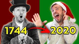 Evolution of Christmas Songs (1744-2020)