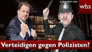 Selbstverteidigung Gegen Polizisten – Darf Ich Das?   Rechtsanwalt Christian Solmecke