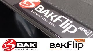 In the Garage™ with Total Truck Centers™: BAK Industries BAKFlip MX4 Premium Hard Folding Cover