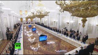 Путин проводит заседание Госсовета по вопросу развития дорог — LIVE