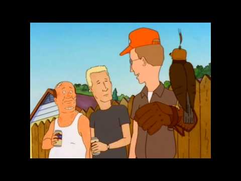 This 3-piece skit from King of the Hill is so good it would work anywhere else, it's a complete little comedy package all on its own.