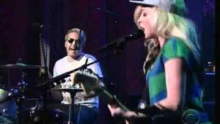 The Ting Tings Hang It Up on the David Letterman March 14, 2012