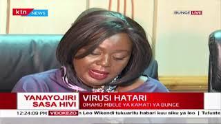 Virusi hatari : Omamo mbele ya kamati ya bunge kueleza hali ya wakenya walioko Uchina