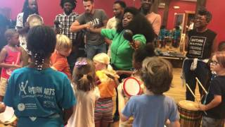 Master Class with Tank and the Bangas at Upturn Arts 2017