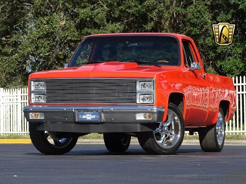 Video of '82 C10 - LUZ9