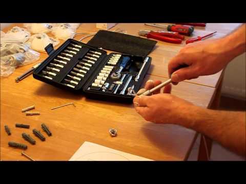 Halogenlampen Seilsystem anschließen Montage - Newwonder555