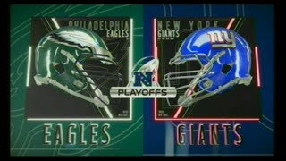 MADDEN 19_EAGLES AT GIANTS (DIVISIONAL PLAYOFFS) 2018