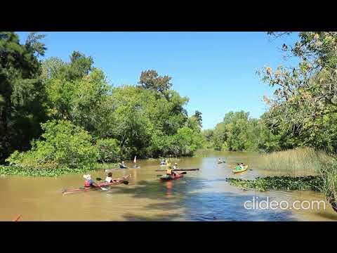 Remada por los ríos en Escobar y Tigre en marzo 2021