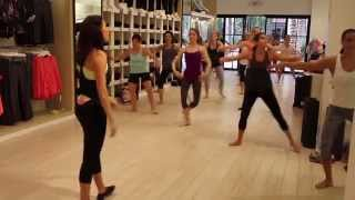 Lifestyle Jules Full Ballet Barre Class at Calvin Klein Performance by Julie Xander