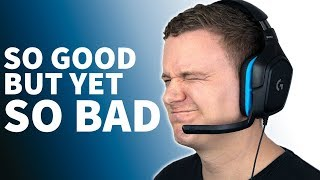 Logitech G432 Headphone Review and Mic Test