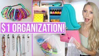 20 Dollar Store Organization Ideas to Save You HUNDREDS!