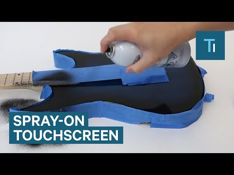 This spray makes anything a touch screen