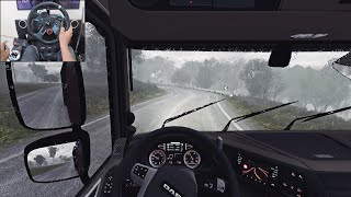 Logs Delivery | Euro Truck Simulator 2 | Logitech g29 gameplay