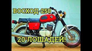 Как разработали и угробили Восход 250||Мотоциклы СССР