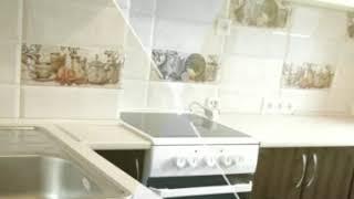 Кухня фото № 45 фасад постформинг цвет Белая - коричневая. от компании Фаберме - видео 2