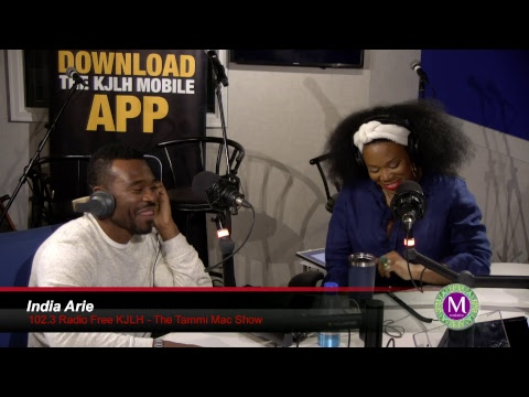 India Arie live in studio with Tammi Mac - Part 1