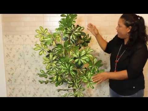 Árvore Ornamental Artificial passo a passo