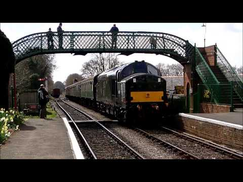 The Mid Hants Railway Diesel Gala 27th April 2013