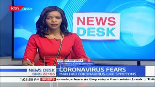Health state of Chinese national quarantined in Kitui over Coronavirus