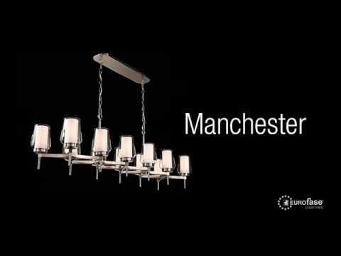 Video for Manchester Satin Nickel 16-Inch 12-Light Chandelier