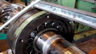 Desmontaje hidraúlico rodamiento 22332 asiento cilindrico