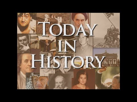 Highlights of this day in history:  The Lusitania sunk in World War I; Nazi Germany signs surrender in World War II; Vietnam's Battle of Dien Bien Phu; Composer Peter Illych Tchaikovsky born; Glenn Miller records 'Chattanooga Choo-Choo.'  (May 7)