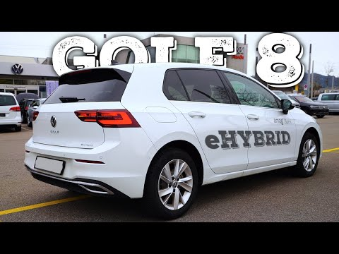 New Volkswagen Golf 8 eHybrid Plug-in Hybrid 2021 Review Interior Exterior