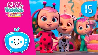Сборник +15мин.! 😎 Младенцы CRY BABIES 💧 MAGIC TEARS 💕 Детский мультфильм
