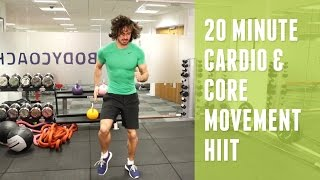 20 Minute Cardio & Core HIIT | The Body Coach by The Body Coach TV