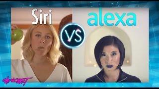 SIRI vs ALEXA - A.I. RAP BATTLE!!!!!