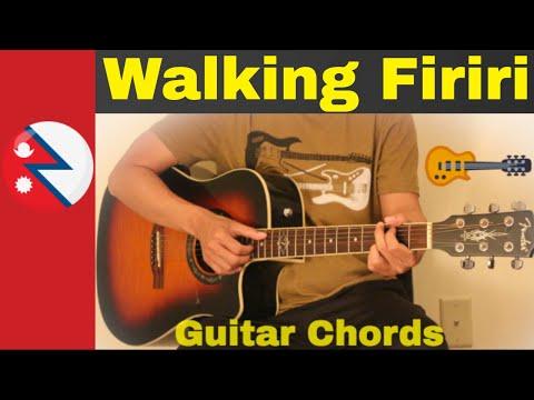 Walking Firiri -  Guitar chords | Lesson | Strumming