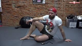 #Ударный раунд - 5. Тренировка мышц кора для бойцов