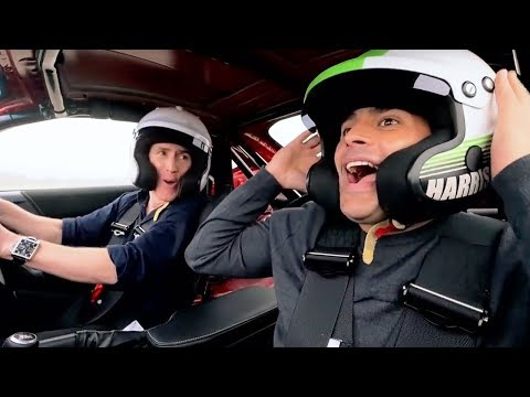 Chris Harris and Rob Brydon Lap | Top Gear: Series 25