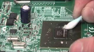 Dépannage HP Pavilion Slim PC par AB1 Informatique à Beziers (BGA Rework Station)