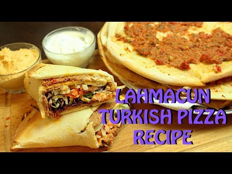 LAHMACUN PIZZA ( TURKISH ) RECIPE *COOK WITH FAIZA*