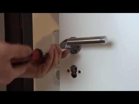 Türklinke/Türgriff Montieren || Neue Tür ausrichten DIY